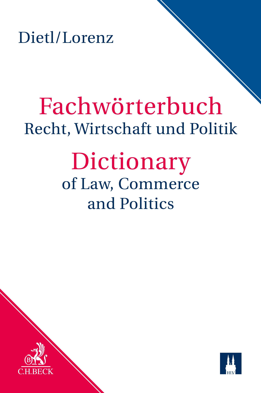 Wörterbuch für Recht, Wirtschaft und Politik