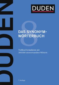 Das Synonymwörterbuch - Dudenredaktion