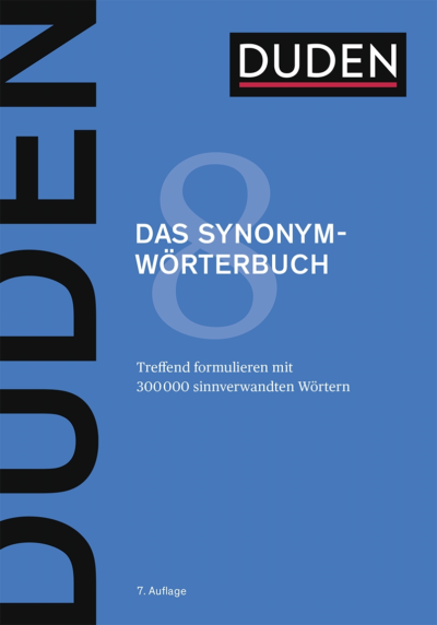 Das Synonymwörterbuch - Duden
