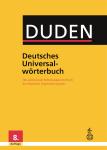 Deutsches Universalwörterbuch - Duden