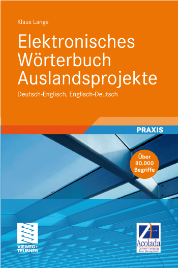 Wörterbuch Auslandsprojekte