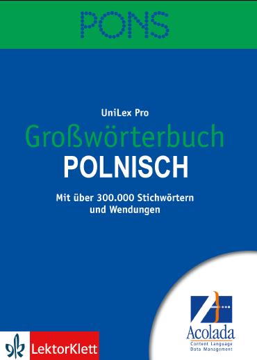 PONS Großwörterbuch Polnisch