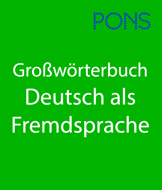 PONS: Unabridged German Dictionary Cover