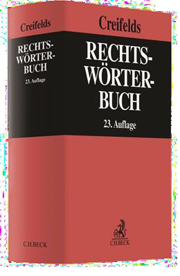 Creifelds Rechtswörterbuch Cover